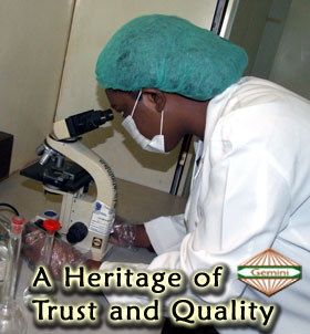 A heritage of trust and quality!